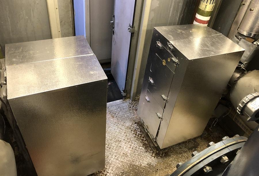 installed plate heat exchanger