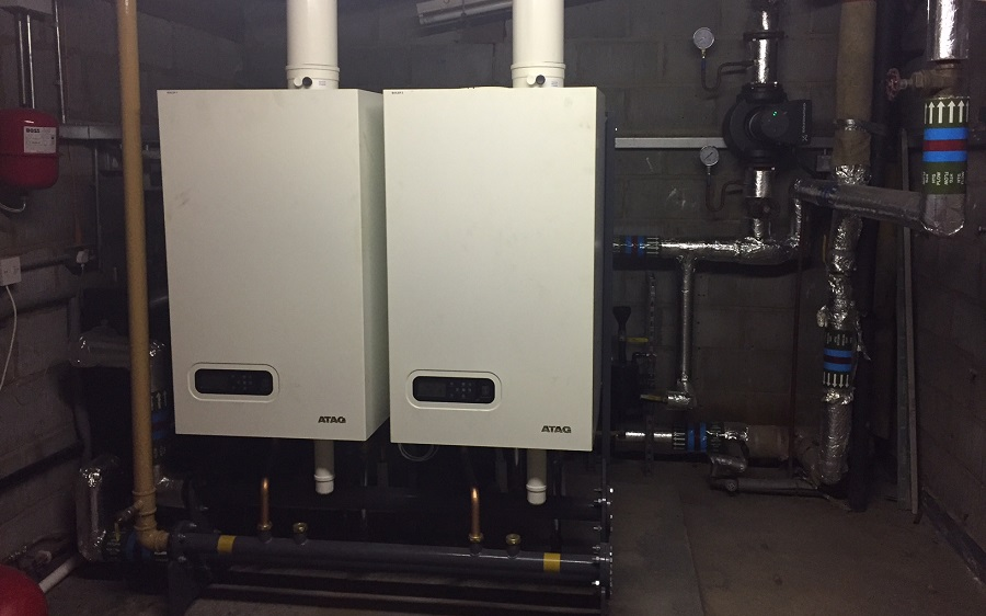 pair of atag boilers